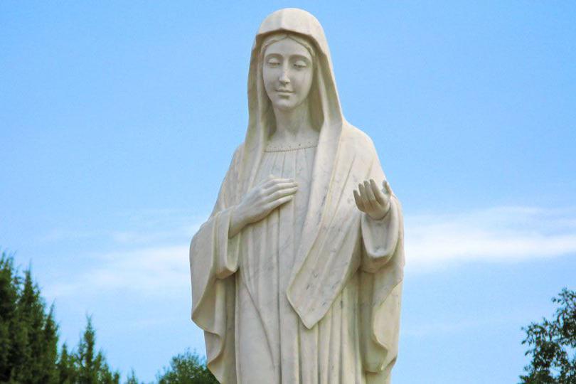 Статую Девы Марии демонтируют по решению суда